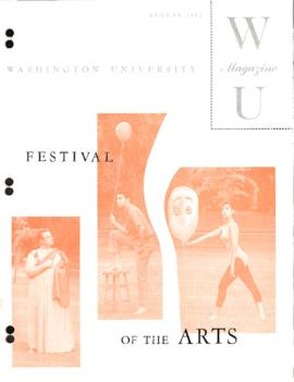 Washington University Magazine, V31, N04, August 1962.