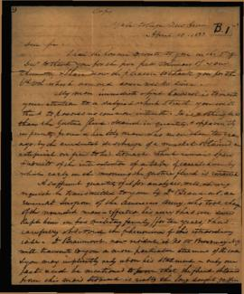 Benjamin Silliman [New Haven, CT] to Jacob Berzelius [Stockholm, Sweden] regarding: W. Beaumont's...