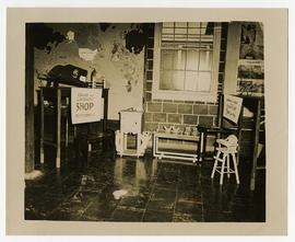 Interior view of the Cabinet and Carpentry Workshop, Wakeman General and Convalescent Hospital, C...