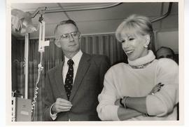 Joan Rivers and Ron Evens, St. Louis Children's Hospital.
