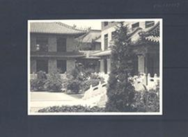 Inner Courtyard at Peking Union Medical College, China.
