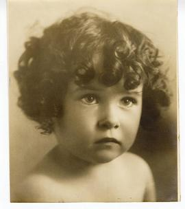Portrait of Teresa J. Vietti, about age 2.