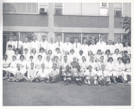 Group portrait of the Washington University School of Medicine Department of Pharmacology.