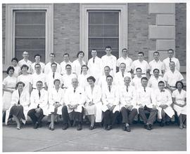 Group portrait of the Washington University School of Medicine Department of Pediatrics.