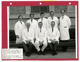 Group portrait of Barnes Hospital Surgical House Staff.