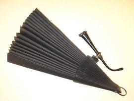 Acoustic fan, 19th century.
