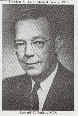 Studio portrait of Leonard T. Furlow.