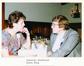 Jeanette Bondurant and Donna King.