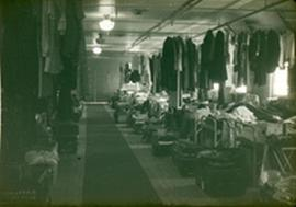 """Kline's basement,"" nurses' quarters, Fort Benning, Georgia."