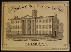 Matriculation card for G.F. Dudley, Hospital of the Sisters of Charity, St. Louis, Missouri.