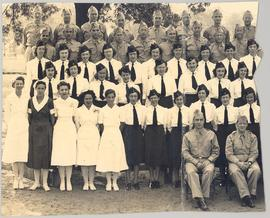 21st General Hospital staff photograph, Fort Benning, Georgia.