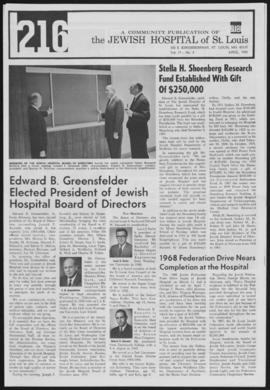 216 Jewish Hospital of St. Louis, April 1968.