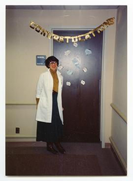 Portrait of Jennifer Wendt, Barnes Hospital Department of Social Work.