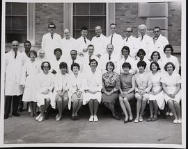 Group portrait of the Washington University School of Medicine Division of Hematology.