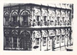 Exterior view of Monkey Temple, Bombay, India.