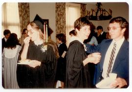 Scene from a graduation afterparty, Washington University School of Medicine, Program in Occupati...