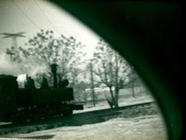 View of the Chattanooga Choo-Choo, Fort Benning, Georgia.