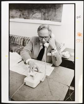 Virgil Loeb, Jr., Alumni Phonathon.