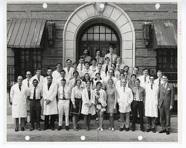 Group portrait of St. Louis Children's Hospital staff.