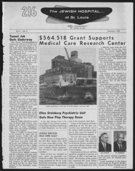 216 Jewish Hospital of St. Louis, November 1960.