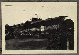 View of the grandstand, Base Hospital 21, Rouen, France.