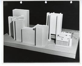 Architectural model of St. Louis Children's Hospital.
