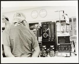 Operating room scene, Department of Surgery, Washington University School of Medicine.