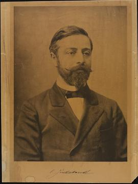 Studio portrait of Emil Zuckerkandl.