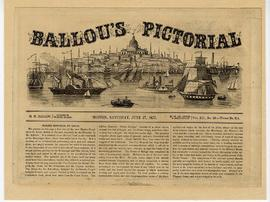 Ballou's Pictorial depicting Marine Hospital, St. Louis.