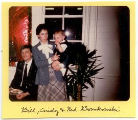 Bill, Cindy, and Ned Bonskowski at a Washington University Department of Occupational Therapy Chr...