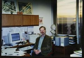 Portrait of Paul G. Anderson in his office.