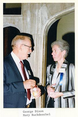 George E. Dixon and Mary Ruckdeschel.