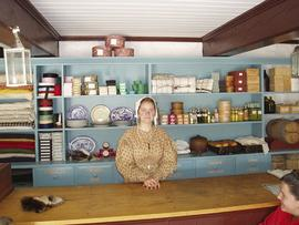 Interior view of the Historic Mackinac Island American Fur Co. Store and Dr. Beaumont Museum, Mac...