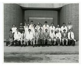 Group portrait of the Washington University School of Medicine Division of Radiation Oncology.