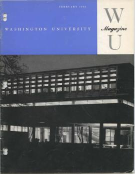 Washington University Magazine, V32, N02, February 1963.