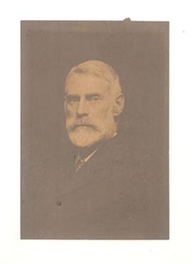 Studio portrait of Nathaniel Harrington Cowdry.