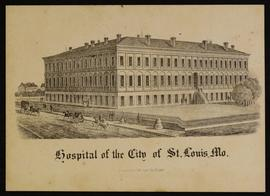 Matriculation card for L.J. Hall, Hospital of the City of St. Louis, Missouri.