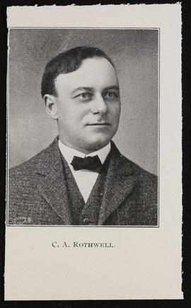 Studio portrait of Clarence A. Rothwell.