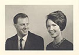 Portrait of John R. Matthews and Carol Lucas.