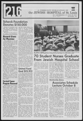 216 Jewish Hospital of St. Louis, September 1968.