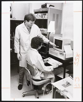 Dr. Edward McCluskey and J. Schroder, Department of Cell Biology and Physiology, Washington Unive...