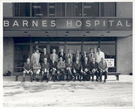 Unidentified group portrait, Barnes Hospital.