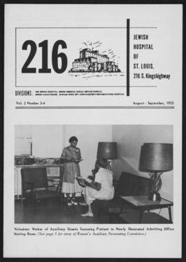 216 Jewish Hospital of St. Louis August-September 1953.