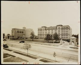 Exterior view of St. Mary's Hospital and Nurses Home, St. Louis, Missouri.