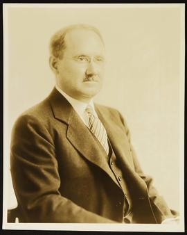 Studio portrait of Millard F. Arbuckle.