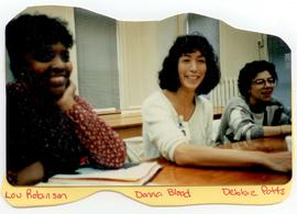 Lou Robinson, Donna Blood, and Debbie Potts, Washington University School of Medicine, Program in...