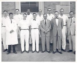 Group portrait of the Washington University School of Medicine Department of Surgery, Orthopedic ...