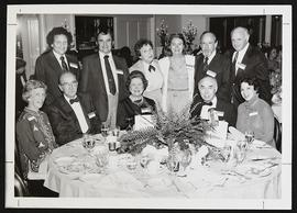 Group portrait of Harvey Crystal, Dannis Cantwell, Phyllis Rohan, Susan Cantwell, Stanley Rohan, ...