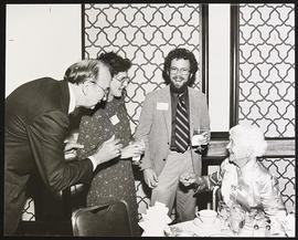 Paul E. Lacy, Harriet Wallace, Mike Kappelman, and Mildred Trotter, Seattle Reception.