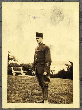 Private James Sallee in uniform.